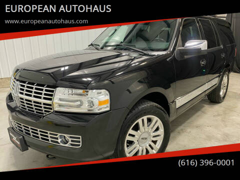 2013 Lincoln Navigator for sale at EUROPEAN AUTOHAUS in Holland MI