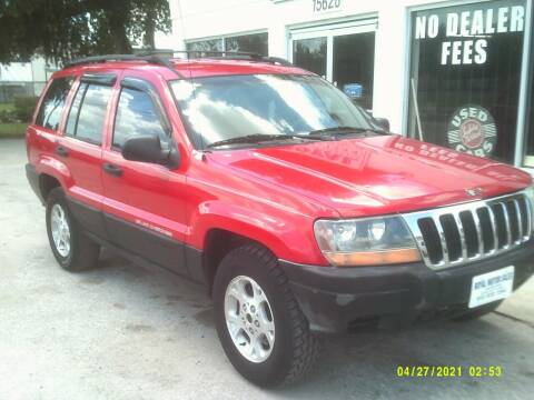 2001 Jeep Grand Cherokee for sale at ROYAL MOTOR SALES LLC in Dover FL