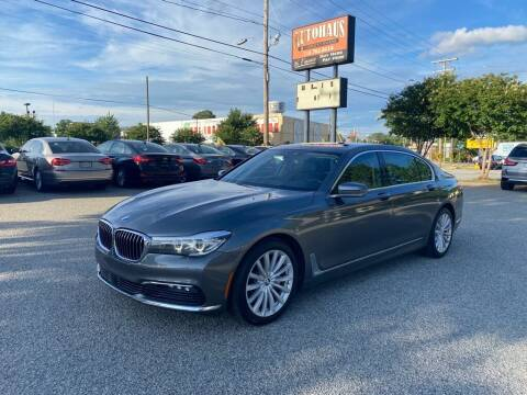 2016 BMW 7 Series for sale at Autohaus of Greensboro in Greensboro NC