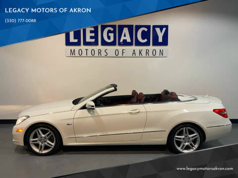 2012 Mercedes-Benz E-Class for sale at LEGACY MOTORS OF AKRON in Akron OH