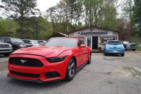 2015 Ford Mustang for sale at E-Motorworks in Roswell GA