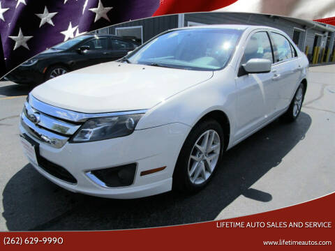 2012 Ford Fusion for sale at Lifetime Auto Sales and Service in West Bend WI