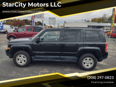2011 Jeep Patriot for sale at StarCity Motors LLC in Garden City ID