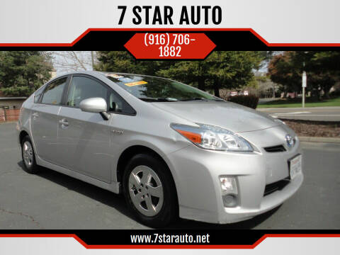 2011 Toyota Prius for sale at 7 STAR AUTO in Sacramento CA