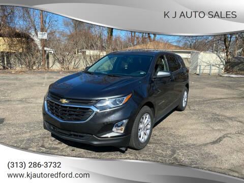 Chevrolet Equinox For Sale In Redford Mi K J Auto Sales