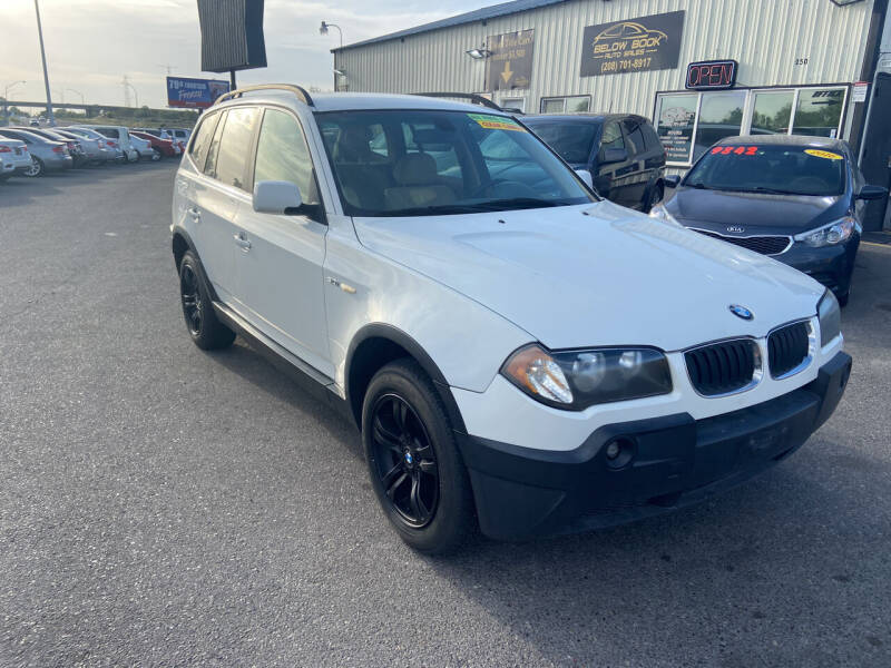 2004 BMW X3 for sale at BELOW BOOK AUTO SALES in Idaho Falls ID