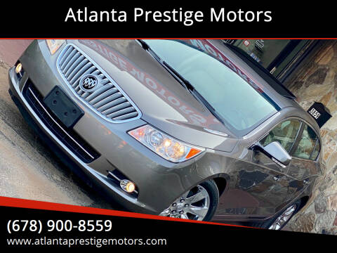 2010 Buick LaCrosse for sale at Atlanta Prestige Motors in Decatur GA