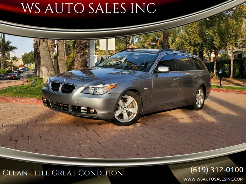 2006 BMW 5 Series for sale at WS AUTO SALES INC in El Cajon CA