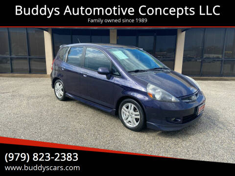 2008 Honda Fit for sale at Buddys Automotive Concepts LLC in Bryan TX