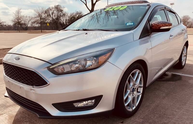 2015 Ford Focus for sale at Driveline Auto Solution, LLC in Wylie TX