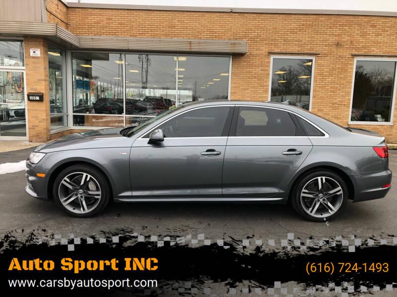 2017 Audi A4 for sale at Auto Sport INC in Grand Rapids MI