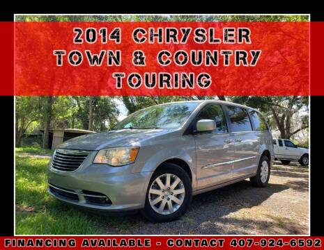 2014 Chrysler Town and Country for sale at AFFORDABLE ONE LLC in Orlando FL