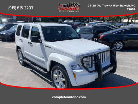 2012 Jeep Liberty for sale at Complete Auto Center , Inc in Raleigh NC