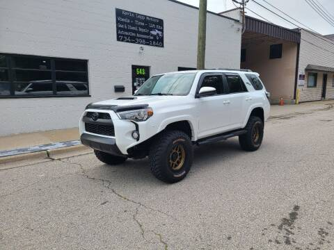 2017 Toyota 4Runner for sale at Kevin Lapp Motors in Plymouth MI