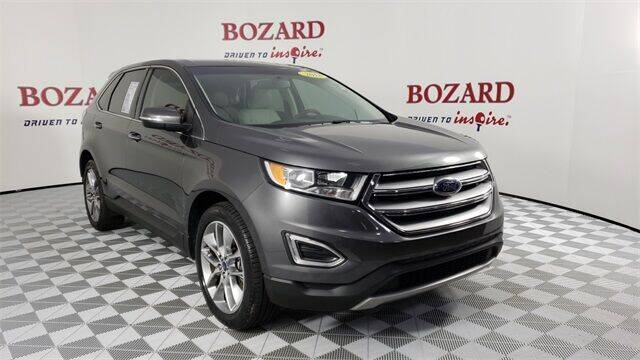 2018 Ford Edge for sale at BOZARD FORD in Saint Augustine FL