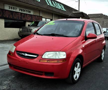 2008 Chevrolet Aveo for sale at DESERT AUTO TRADER in Las Vegas NV