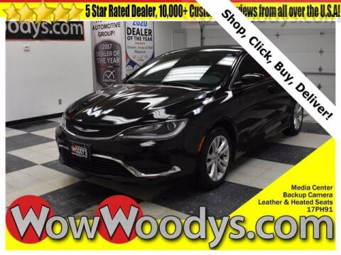 2017 Chrysler 200 for sale at WOODY'S AUTOMOTIVE GROUP in Chillicothe MO
