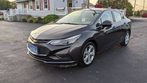 2017 Chevrolet Cruze for sale at RBT Automotive LLC in Perry OH