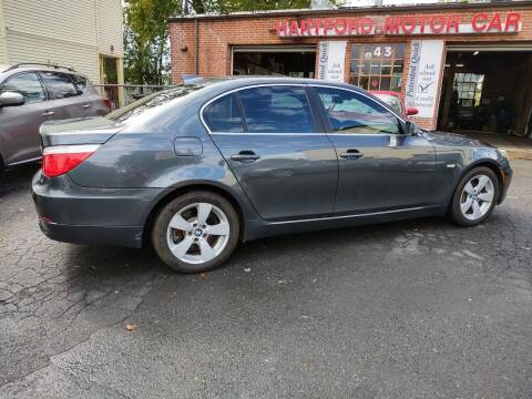2008 BMW 5 Series for sale at HARTFORD MOTOR CAR in Hartford CT