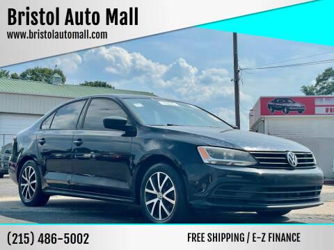 2016 Volkswagen Jetta for sale at Bristol Auto Mall in Levittown PA