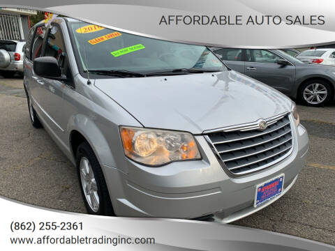 2010 Chrysler Town and Country for sale at Affordable Auto Sales in Irvington NJ