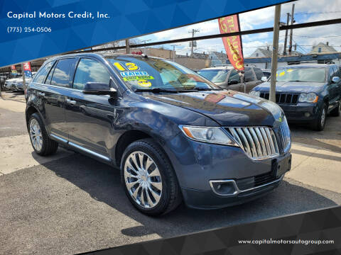2013 Lincoln MKX for sale at Capital Motors Credit, Inc. in Chicago IL