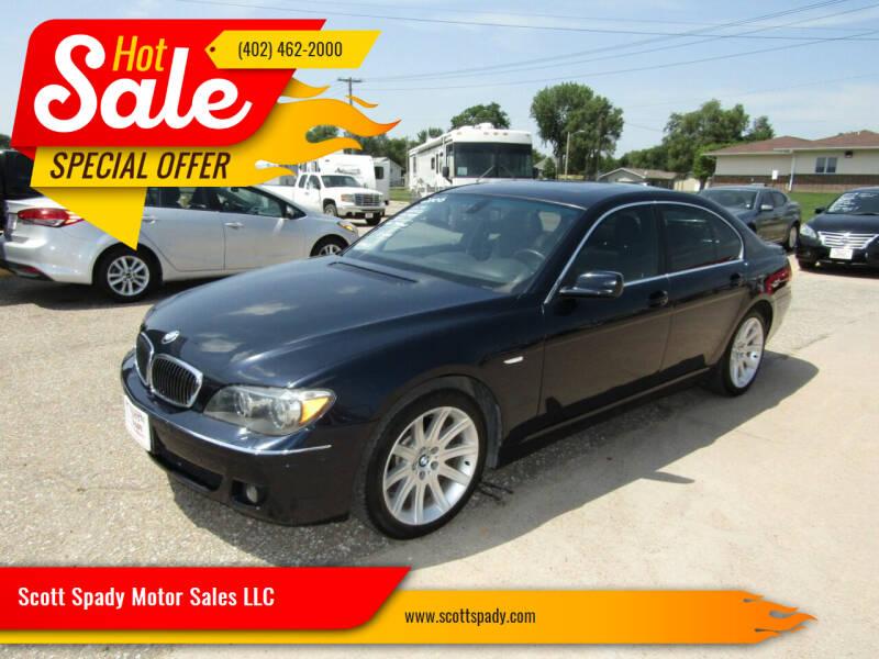 2006 BMW 7 Series for sale at Scott Spady Motor Sales LLC in Hastings NE