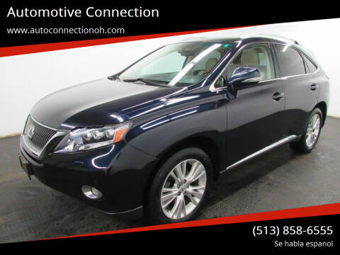 2010 Lexus RX 450h for sale at Automotive Connection in Fairfield OH