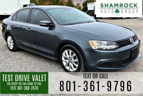 2012 Volkswagen Jetta for sale at Shamrock Group LLC #1 in Pleasant Grove UT
