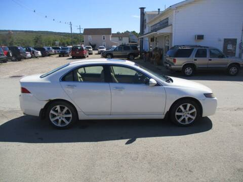 2004 Acura TSX for sale at ROUTE 119 AUTO SALES & SVC in Homer City PA