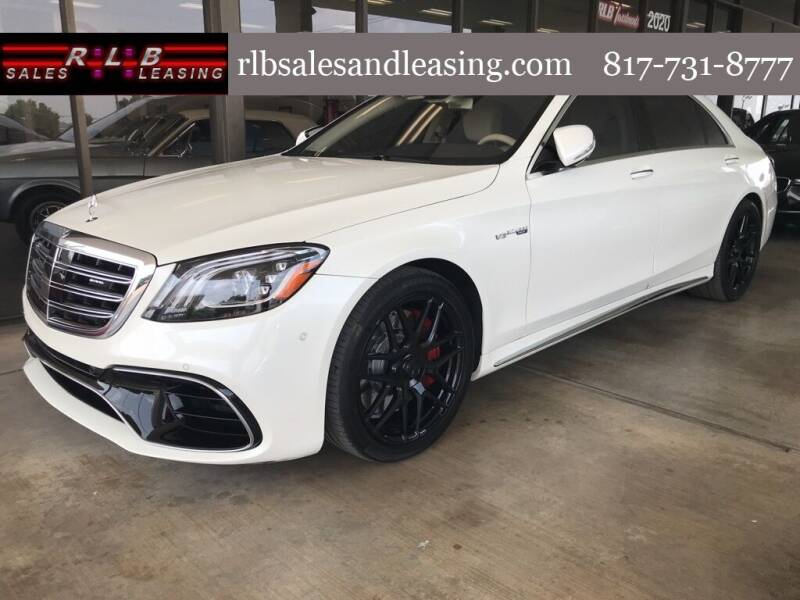 2018 Mercedes-Benz S-Class for sale at RLB Sales and Leasing in Fort Worth TX