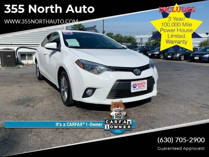 2015 Toyota Corolla for sale at 355 North Auto in Lombard IL