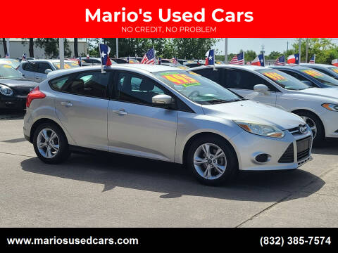 2014 Ford Focus for sale at Mario's Used Cars in Houston TX