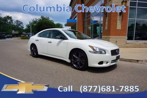 2014 Nissan Maxima for sale at COLUMBIA CHEVROLET in Cincinnati OH