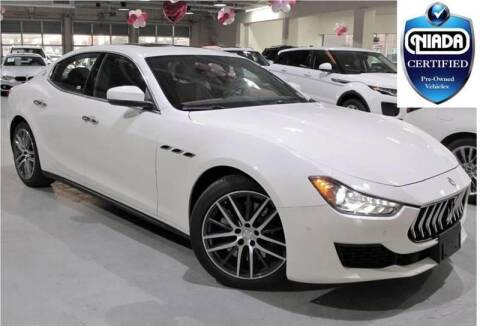 2018 Maserati Ghibli for sale at Best Auto Outlet in Floral Park NY