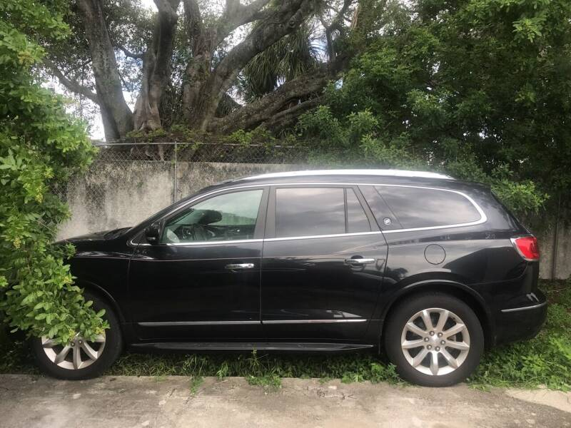 2015 Buick Enclave for sale at FIRST FLORIDA MOTOR SPORTS in Pompano Beach FL