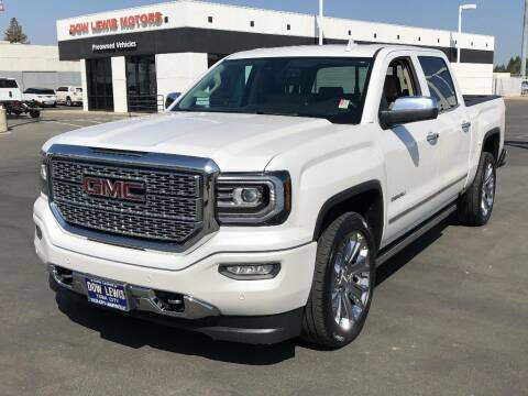 2018 GMC Sierra 1500 for sale at Dow Lewis Motors in Yuba City CA