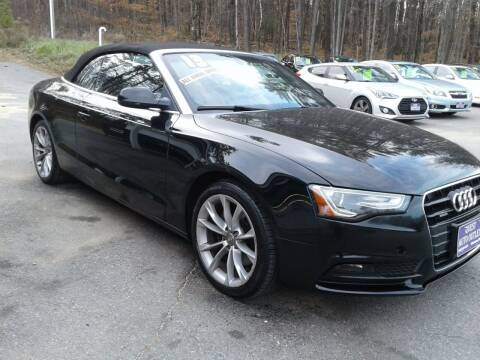 2013 Audi A5 for sale at Quest Auto Outlet in Chichester NH