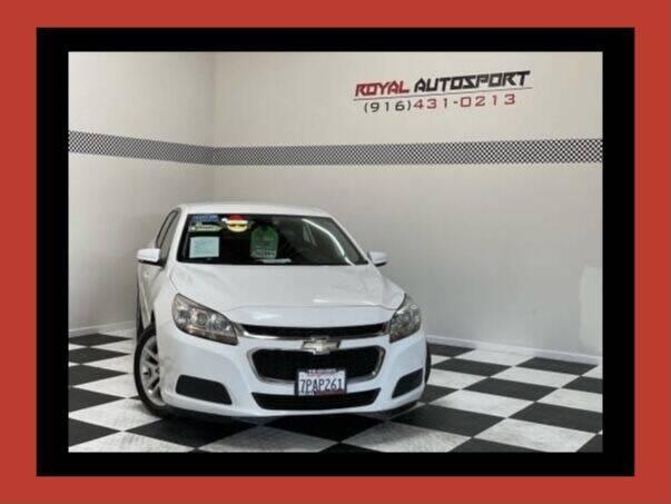 2016 Chevrolet Malibu Limited for sale at Royal AutoSport in Sacramento CA