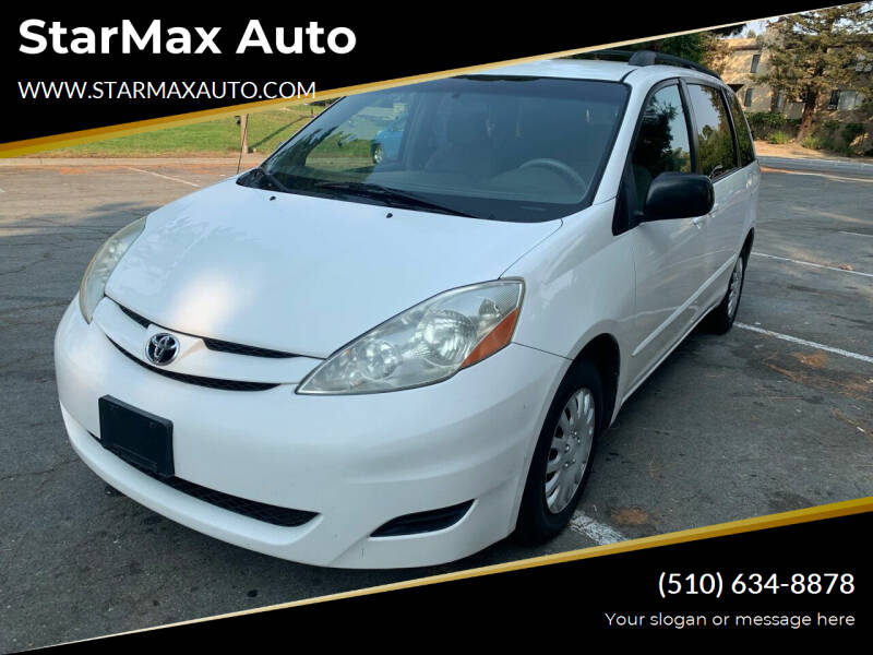 2007 Toyota Sienna for sale at StarMax Auto in Fremont CA