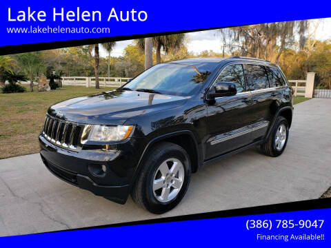 2012 Jeep Grand Cherokee for sale at Lake Helen Auto in Lake Helen FL