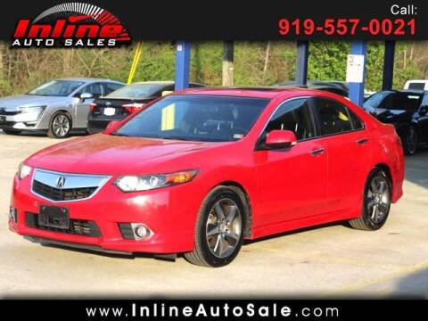 2013 Acura TSX for sale at Inline Auto Sales in Fuquay Varina NC