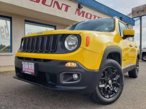 2016 Jeep Renegade for sale at Discount Motors in Pueblo CO