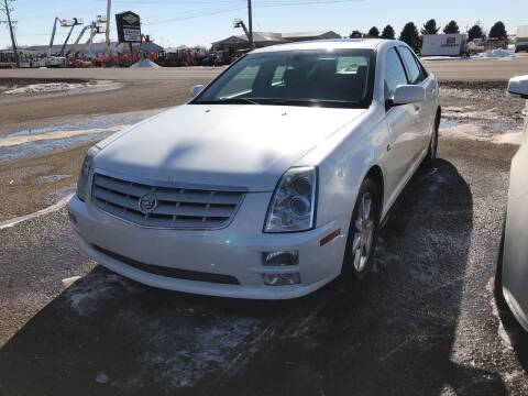 2007 Cadillac STS for sale at BARNES AUTO SALES in Mandan ND