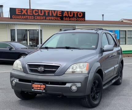 2006 Kia Sorento for sale at Executive Auto in Winchester VA