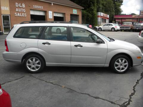 2005 Ford Focus for sale at D & B Auto Sales & Service in Martinsville VA