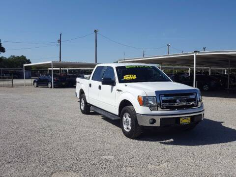 2014 Ford F-150 for sale at Bostick's Auto & Truck Sales in Brownwood TX
