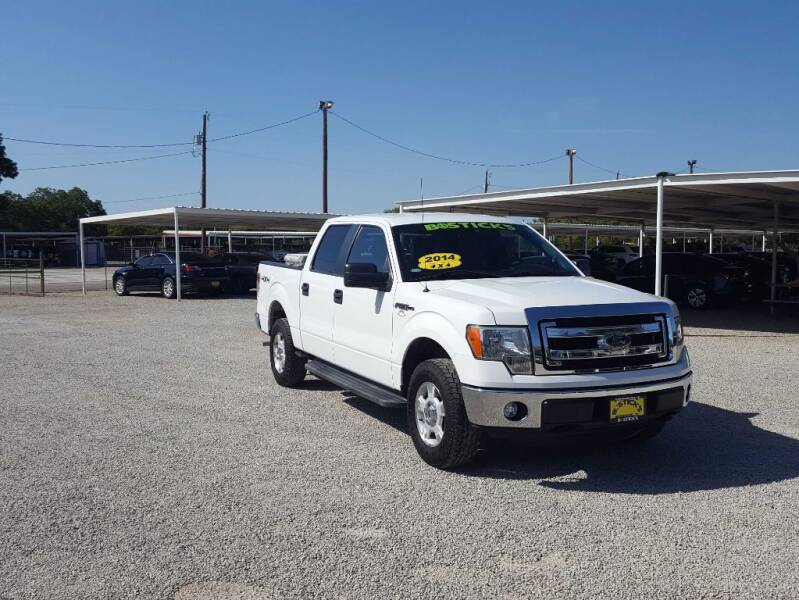 2014 Ford F-150 for sale at Bostick's Auto & Truck Sales LLC in Brownwood TX