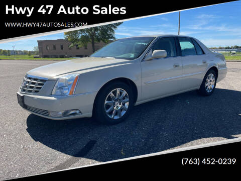 2010 Cadillac DTS for sale at Hwy 47 Auto Sales in Saint Francis MN