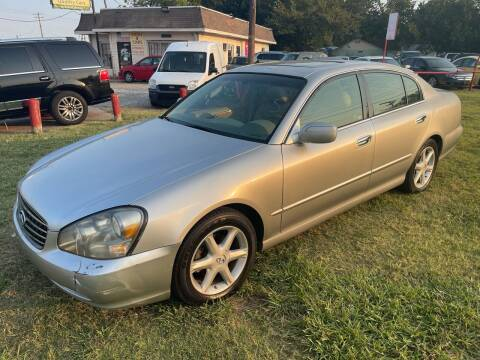2004 Infiniti Q45 for sale at Texas Select Autos LLC in Mckinney TX